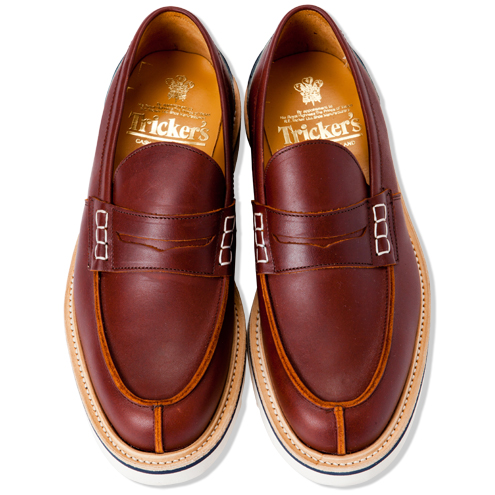Tricker's TWO TONE LOAFER